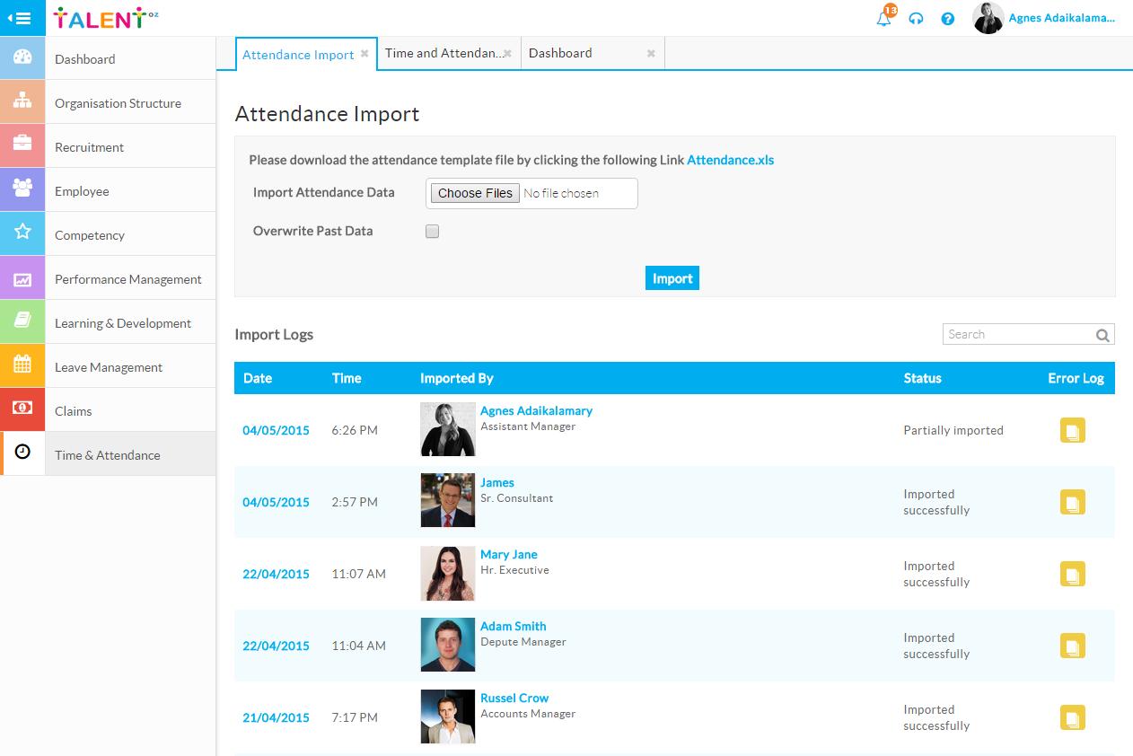 TalentOz – Comprehensive HCM On-Cloud – HR Solution – Talent