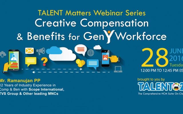 Talent Matters Gen Y